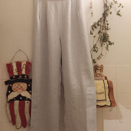 1980's made in USA pants white