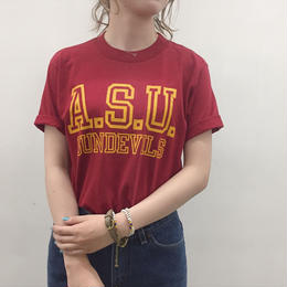 1980's made in USA A.S.U. SUNDEVILS Tee