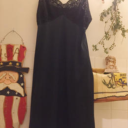 lingerie camisole one piece black
