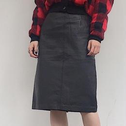 JENNIFER MOORE レザースカート
