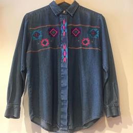 1980's denim shirts