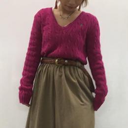 Ralph Lauren sport pink knit
