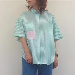 1980's stripe shirt