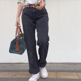 Levi's 505 made in USA black denim pants