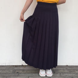 made in USA pleats skirt