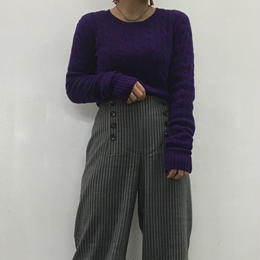 Ralph Lauren  RAGBY purple knit