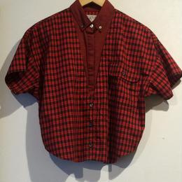 """80's """"Check shirt"""""""