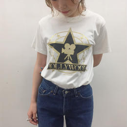 1980's Hanes made in USA HOLLYWOOD Tee