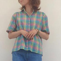 1980's Check shirt