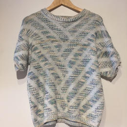 summer knit white