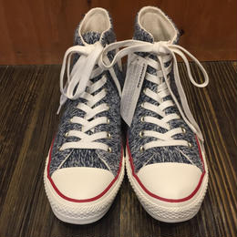"""NEW"" USA企画 CONVERSE ALL STAR Winter Knit Navy"