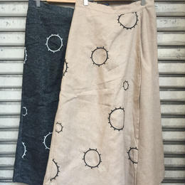 """""""NEW"""" LILOU&LILY CIRCLE EMBROIDERY CROPPED PANTS"""