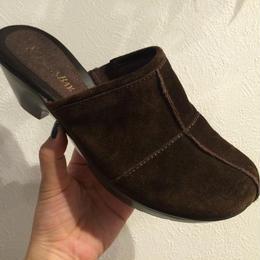 St.John's Bay suède sandal