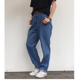 1990's Lee denim tapered pants