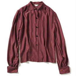 WIDE COLLAR BLOUSE 【WOMENS】