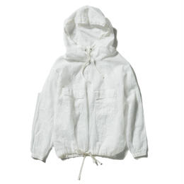 COTTON ORGANDY MILITARY PULLOVER【UNISEX】