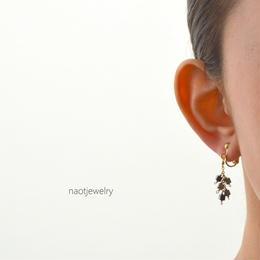 Bunch  Hematite Earring