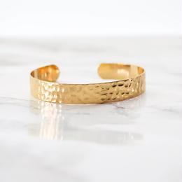 Tsuchime Metal Bangle(gold)