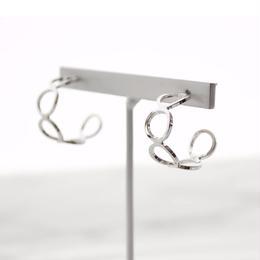 Circle Hoop Pierce(Silver)