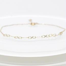 K10 Infinity Chain Bracelet