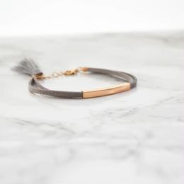 Tassel Suede Metal Bracelet