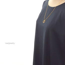 Double strand of circle Necklace
