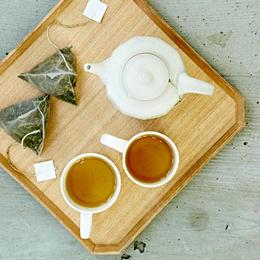 いつでも気軽に本格ほうじ茶。ほうじ茶テトラティーパック  6g×15袋入