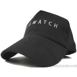 C-01 コットンCAP BIGWATCH ブラック【期間限定 送料無料】