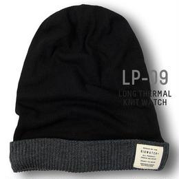 LP-09  ロング サーマル BIGWATCH   ブラック /チャコールグレー