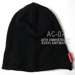 AC-07  10周年記念限定アクリル リバーシブル BIGWATCH  ブラック/ホワイト