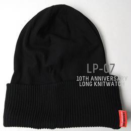 LP-07   10周年記念限定ロング サーマル リバーシブルBIGWATCH   ブラック