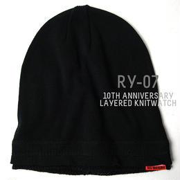 RY-07  10周年記念限定レイヤードBIGWATCH ブラック【期間限定送料無料】
