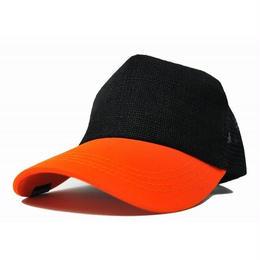 CPMA-01  無地 ヘンプコンビ キャップBIGWATCH ブラック/オレンジ
