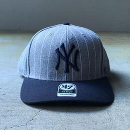 "'47 / ""MVP"" Yankees Cap (grey x navy)"