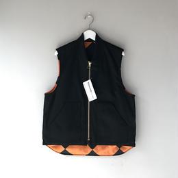 THREE FACE / Active Vest (black)