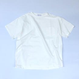 "F-LAGSTUF-F / S/S Big Tee ""Reverse Pocket"" (white)"