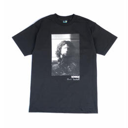 Voyage × Deodato / Photo Print S/S tee (black)