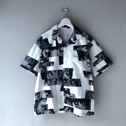 "F-LAGSTUF-F / ""Eye"" S/S Shirts (white)"