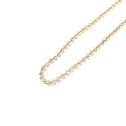 14K GOLD  necklace (ボールチェーン:1.5mm)