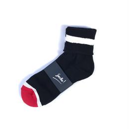 PHINGERIN / SOCKS! (black x white x red)