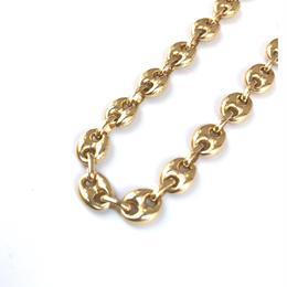 """14K GOLD  bracelet  """"ブタ鼻"""" (7mm)"""