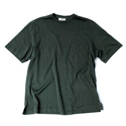 """HERMES /  """"H"""" Patterned T-shirts  (spice)"""