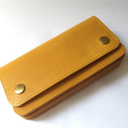 """MADE IN GM JAPAN   """" long wallet """" yellow"""