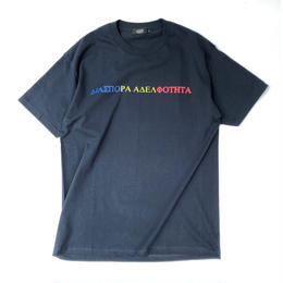 Diaspora skateboards / Tri Magic Circle Tee (navy)