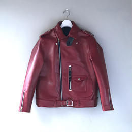 THREE FACE / first riders jacket (red)