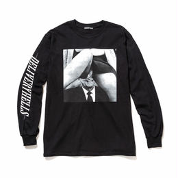 """Delivery Hells / """"INSIDE"""" L/S Tee (black)"""
