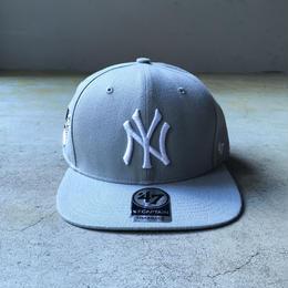 "'47 / ""CAPTAIN"" Yankees Cap (grey x grey)"
