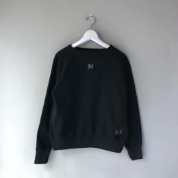 THREE FACE / Sweat Shirt 2 (black : M)