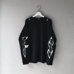 """F-LAGSTUF-F / L/S BIG Tee """"FS"""" (black)"""
