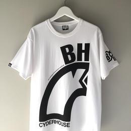 CYDERHOUSE × BOUNTY HUNTER  / snake tee  (white)